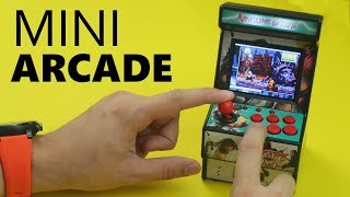 🎮A TINY little arcade cabinet for your desk!