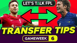 FPL TRANSFER TIPS GAMËWEEK 6   Who to Buy and Sell?   Fantasy Premier League Tips 2021/22