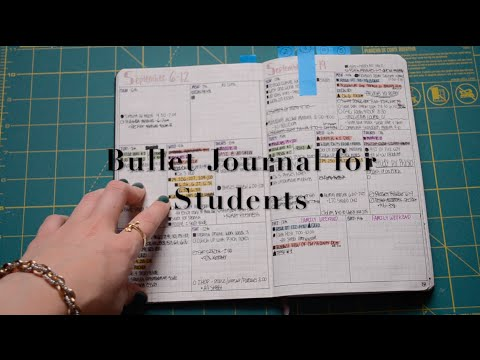 Bullet Journal for Students | krutsicklass