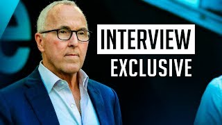 Frank McCourt interview EXCLUSIVE 🎙