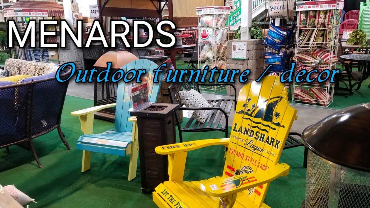 Menards - Outdoor Furniture / Outdoor Decor - YouTube