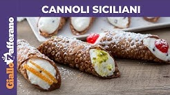 CANNOLI SICILIANI: RICETTA ORIGINALE