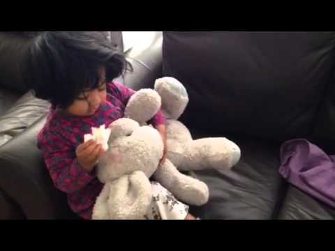 Safia hassan cleaning teddy