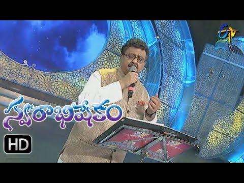 Kadilimdi karunaratham Song | SP Balu Performance | Swarabhishekam | 27thAugust 2017| ETVTelugu