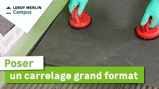 Lm vid os comment poser du carrelage de sol leroy merlin for Carrelage module 4 formats