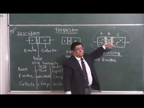 PHY-XII-14-12 Transistor-1 (2016)Pradeep Kshetrapal Physics channel