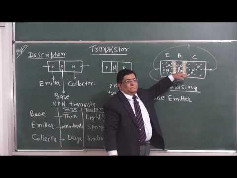 PHY-XII-14-12 Transistor-1 (2016)Pradeep Kshetrapal Physics channel