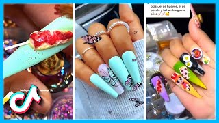 Gorgeous Acrylic Nails Ideas & Designs That Will Look Amazing TikTok Compilation