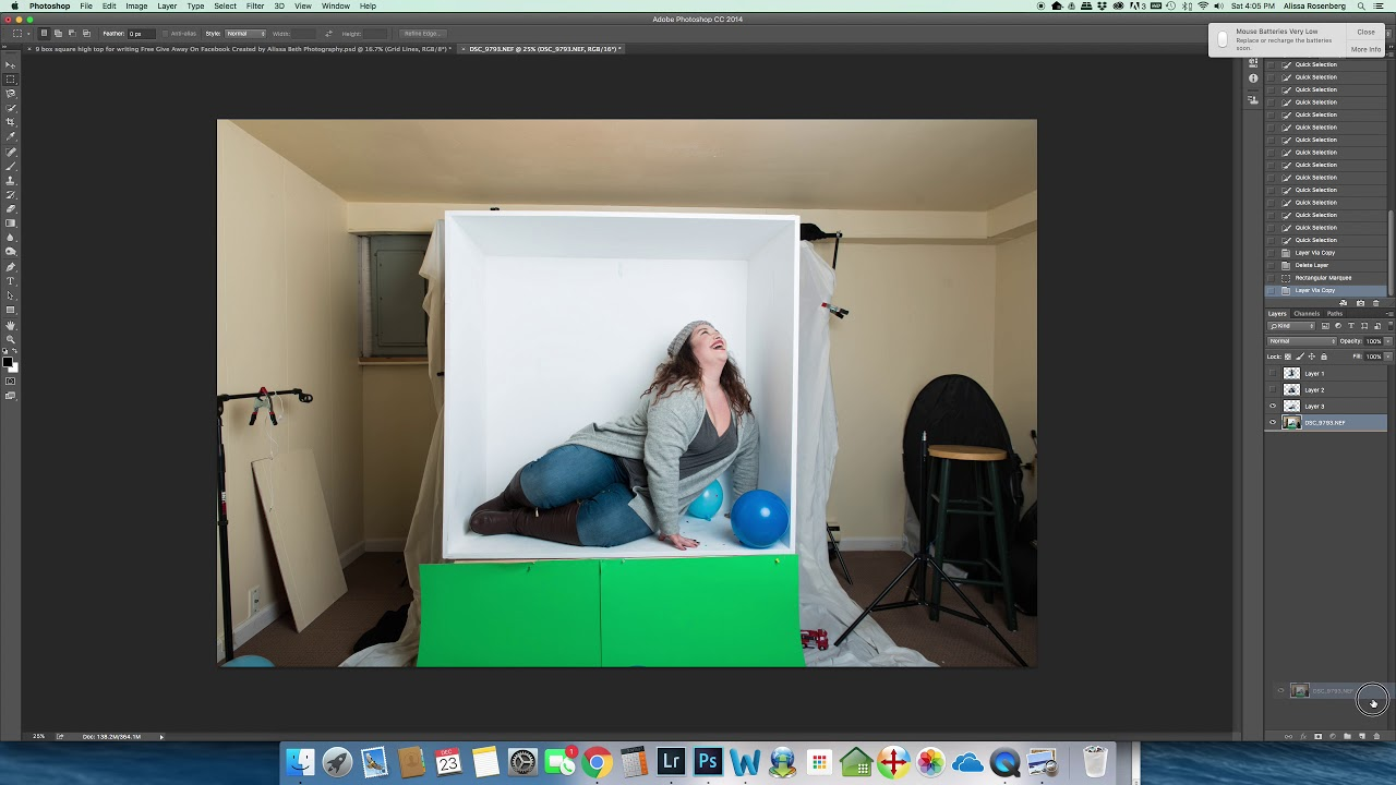 How To Use Inside The Box Photoshop Template Part 1 Youtube