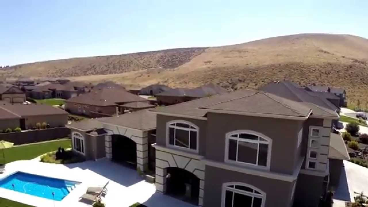 Lapierre homes tri cities wa aerial promo video youtube for Home builders in wa