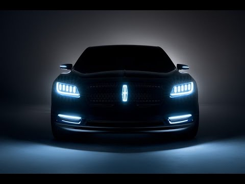 2017 Lincoln Continental Concept First Look