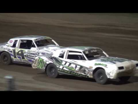 IMCA Hobby Stock feature Independence Motor Speedway 7/2/16