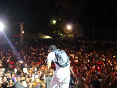 Vybz Kartel in Tobago Great fete Weekend 2011