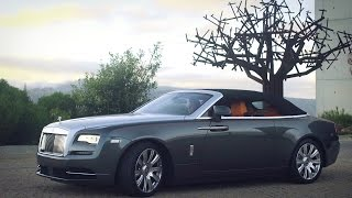 Rolls-Royce Dawn Gunmetal and Silver Drive and Design