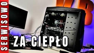 Komputer przegrzewa się  - diagnoza i serwis - VBT