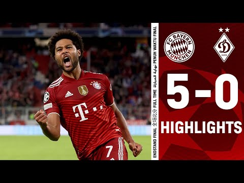 Bayern Munich Dinamo Kiev Goals And Highlights
