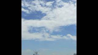東京スカイツリーの建設の様子です。2009年2月1日から2010年2月15日まで...