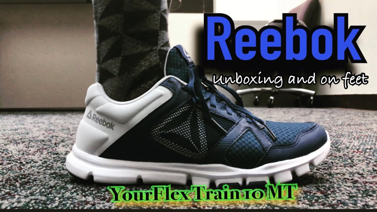 billetera domesticar soltar  Reebok Yourflex 10 MT | Unboxing and On Feet - YouTube