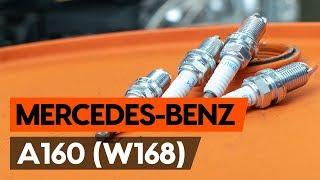How to change spark plug on MERCEDES-BENZ A160 (W168) [TUTORIAL AUTODOC]