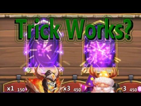 Castle Clash Gem Rolling On Main Trick Works?