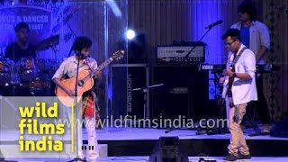 Tripura's rock band Koloma performs in Delhi