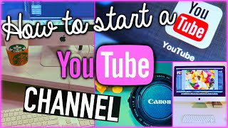 How to start a YouTube channel Thumbnail