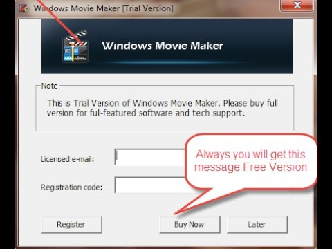 windows movie maker 2019 licensed email and registration code