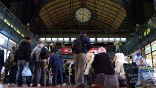 Goodbye Deutschland: Flüchtlinge auf dem Weg nach Schweden