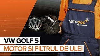 Montare Filtru ulei VW GOLF V (1K1): video gratuit
