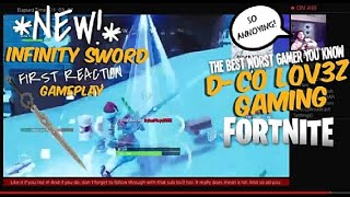 Infinity Sword *1ST REACTION* Gameplay | D-Co LOV3Z Gaming-Fortnite: #2ForTuesday #1