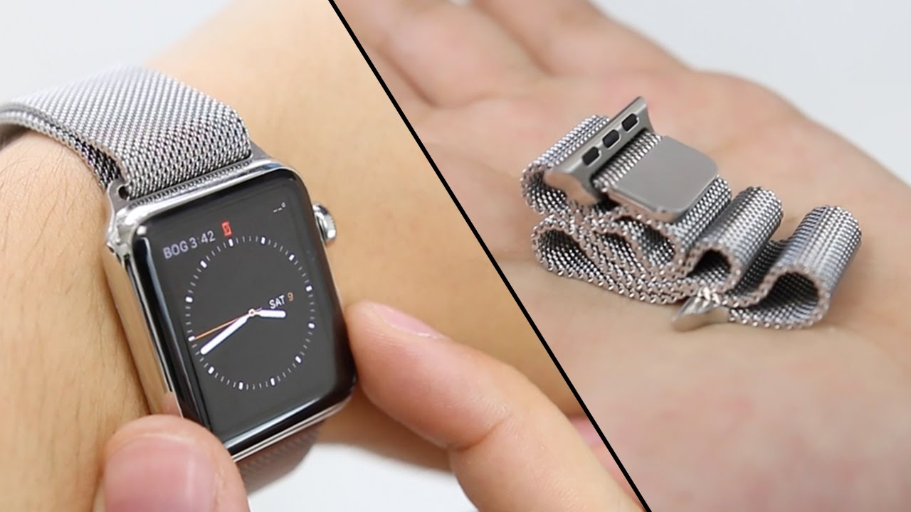 Apple Watch Milanese Loop Band Review Youtube