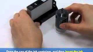 How to Refill HP 920 Black Ink cartridge - Ink Refill Instructions