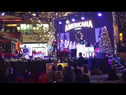 Ella Page Americana tree lighting 2017 Innovation Dance Center Moorpark