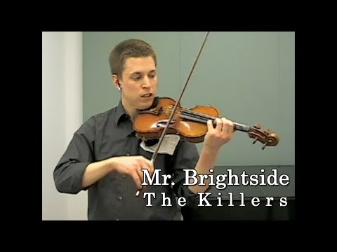 Mr. Brightside - The Killers - Violin and Piano Cover