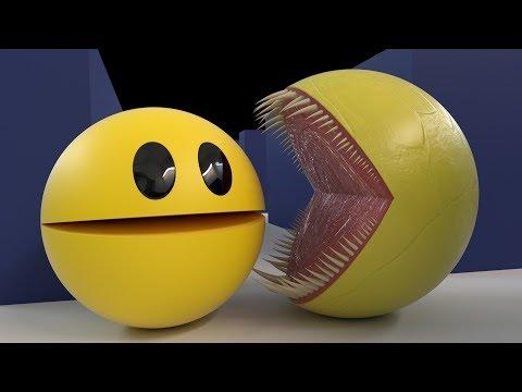 Pacman Vs Monster Pacman 2 [Pac-man's Nightmare]