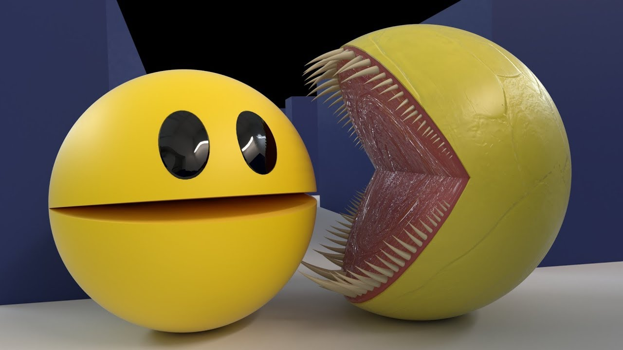 It's just an image of Satisfactory Pics of Pacman