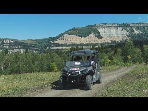 Manti Mountain ATV Run to MILKY FALLS - Arapeen Trail System - Sanpete County, UT