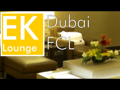 Lounge Hopping Dubai: Emirates First Class Lounge A, B and C