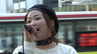 2017-03-30 JR和歌山駅前 16曲目 AyanaCieL 好きだよ~100回の後...