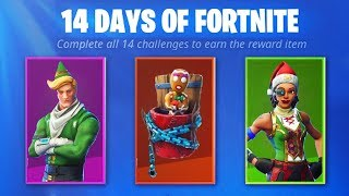 *NEW* THE CHRISTMAS DAY FREE FORTNITE SKIN GIFT!! (14 DAYS OF FORTNITE MAIN REWARD)
