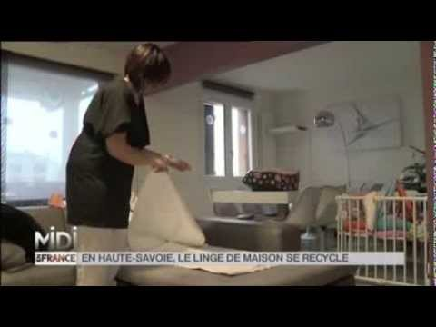 la decouverte de nathalie comment recycler le linge en haute savoie youtube. Black Bedroom Furniture Sets. Home Design Ideas