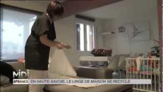 LA DECOUVERTE DE NATHALIE : Comment recycler le linge en Haute-Savoie
