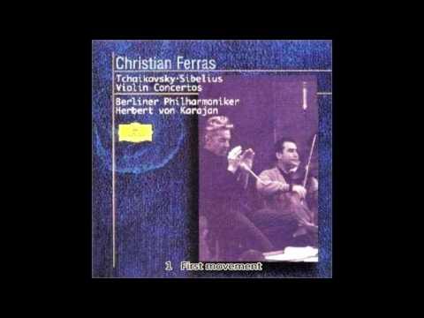 Tchaikovsky - Violin Concerto D major Op.35 Karajan Berlin Philharmonic 1965