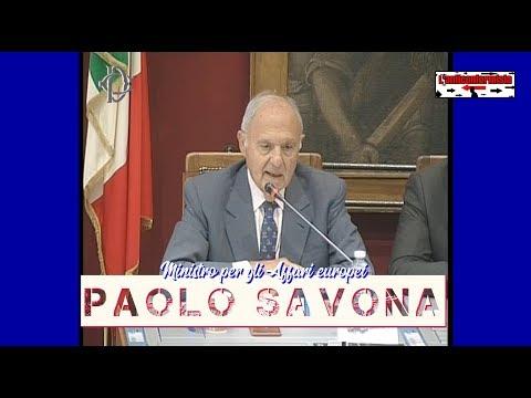 🔴 Audizione del Ministro per gli Affari europei, Paolo Savona, sulle prospettive di riforma dell'UE