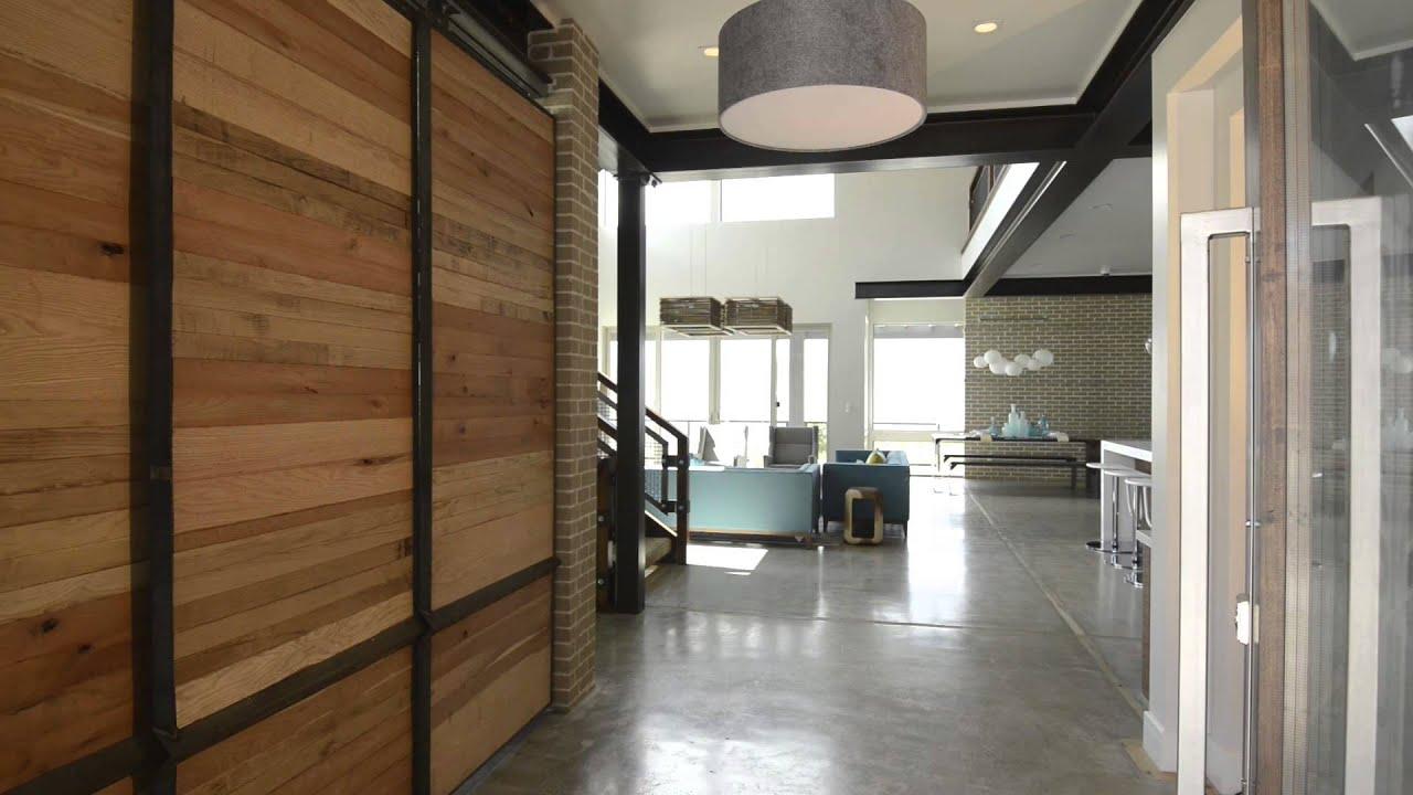 Entry Door + Office Barn Door - YouTube