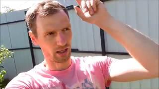 видео Забор из профнастила своими руками