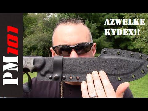 Azwelke kydex new tops armageddon sheath preparedmind101