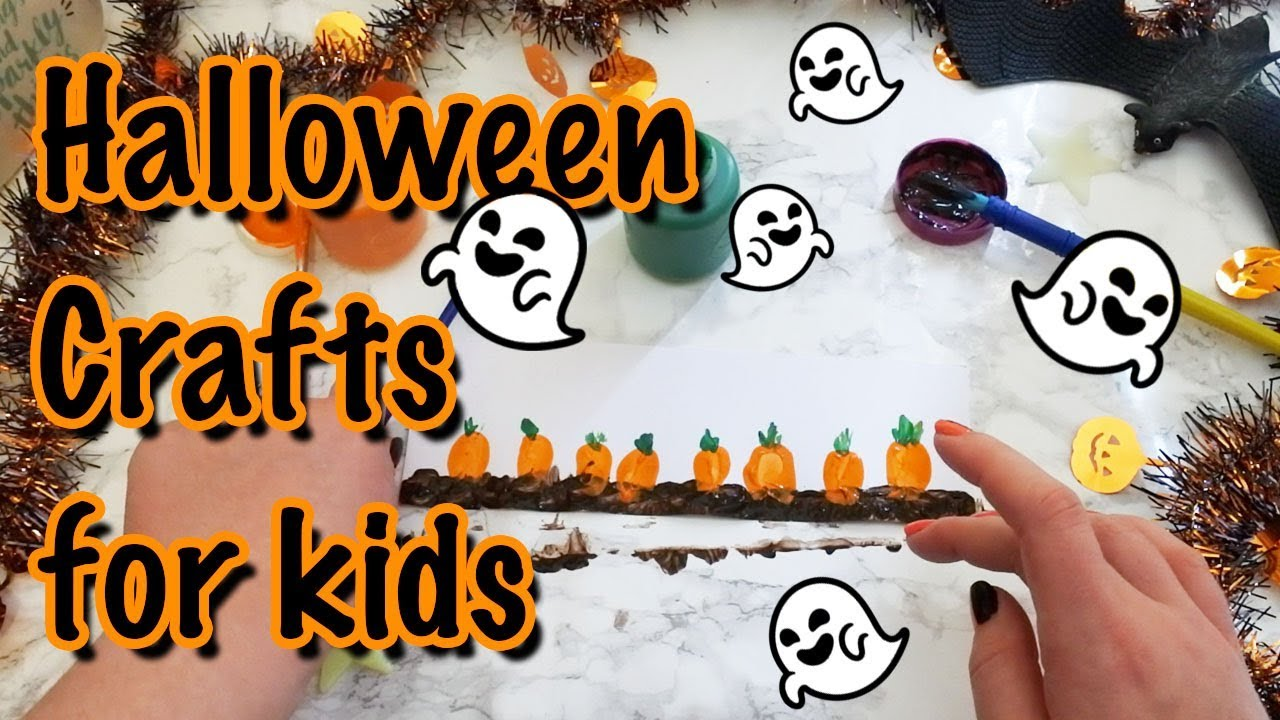 Halloween Crafts Activities For Children Youtube