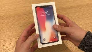 iPhone X - Kicsomagolás