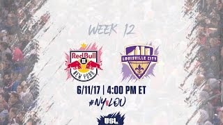 New York Red Bulls USL vs Louisville City FC full match
